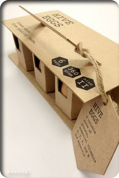Earth-friendly, protective egg packaging.   31 Mind-Blowing Examples of Brilliant Packaging Design