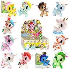 Blind Box 'Unicorno' Series 4 Vinyl Collectors Toy by Tokidoki £7.95