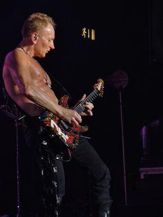 Phil Collen of Def Leppard taken December 2011 in Birmingham #rock #DefLeppard