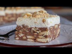 Πεντανόστιμη Τούρτα Κατσαρόλας - Τούρτα Μωσαϊκό - Delicious Pudding Cake - YouTube Krispie Treats, Rice Krispies, Tiramisu, Baking, Ethnic Recipes, Desserts, Youtube, Food, Cakes