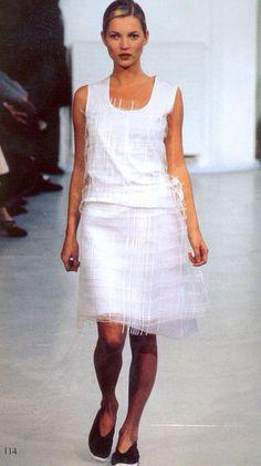 Helmut Lang Spring/Summer 1998   Kate Moss
