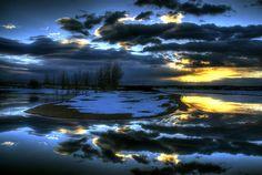 Sunrise Reflection, Colorado