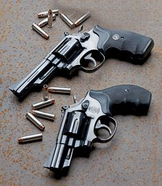 Revolver SMITH & WESSON M19 Combat magnum