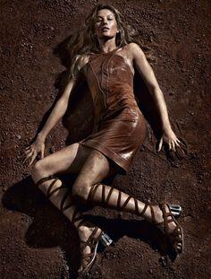 ☆ Gisele Bundchen | Photography by Paulo Vainer | For Vogue Magazine Brazil…