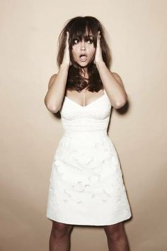 Jenna-Louise Coleman you are all sorts of adorable.