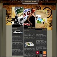 Creative Mind Template | Web Design Maryland | #Webdesign #websitedesign #web #WebDesignMaryland