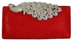 Chicastic Mesh Rhinestone Peacock Hard Box Wedding Cocktail Clutch Purse - Red Chicastic http://www.amazon.com/dp/B00K7GP8K4/ref=cm_sw_r_pi_dp_1aipwb05ATB2M