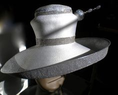 Harriet Rose Bud Hats 2013 Silver and White