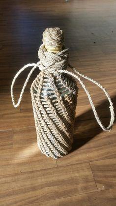 Needle hitched bottle