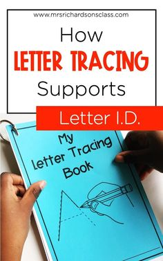 Grab my free letter tracing cards, so you can use them with your kindergarten students that could benefit from working on letter identification during guided reading groups! This is an effective reading intervention for those young readers that know specifically less than 40 letters. Learn more in my post about what you need for this reading activity, and how to implement it with your students!