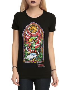 The Legend of Zelda: The Wind Waker Girls T-Shirt | Hot Topic