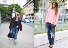 boyfriend jeans fashion bloggers inspiration