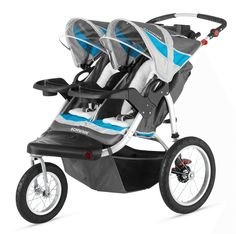 Choosing a Double Stroller for Twins - What's Best?
