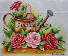 Resultado de imagem para pintura em tecido janaina souza