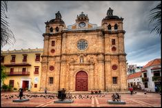 Iglesia de San Pedro Claver: I went to Cartagena too when I visited Colombia. The old walled city is very charming, nicely restored, has lots of nice restaurants, boutique hotels a… Visit Colombia, Colombia Travel, Most Romantic Places, Wonderful Places, Wonderful Time, Ecuador, Places Ive Been, Places To Go, Santo Domingo
