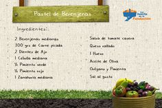 #Receta Ecológica. Pastel de Berenjena