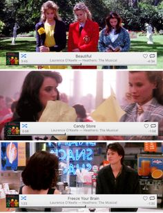Heathers + Heathers the Musical Theatre Nerds, Musical Theatre, Christian Slater, Amy, Be More Chill, Film School, Dear Evan Hansen, Heather Duke, Mean Girls