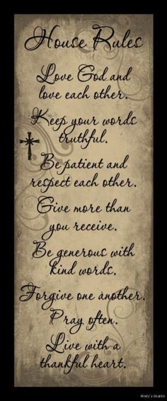 House Rules Love God Each Other Sign Inspiration Primitive Country Home Decor home design ideas living room design interior design room designs home design Great Quotes, Me Quotes, Inspirational Quotes, Sign Quotes, Qoutes, Motivational Sayings, Picture Quotes, Picture Wall, Primitive Country Homes