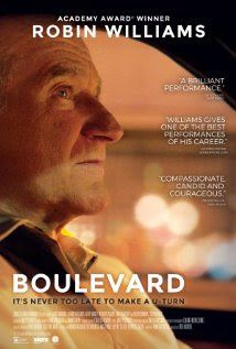 """Hola a todos. Aquí les dejo mi última publicación en el blog sobre la última película del querido Robin Williams """"Boulevard"""". Espero les guste la reseña y me cuenten cuál ha sido la película de Williams que más les ha gustado. Chauuuu"""