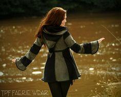2 tone 6 stripe Short Tournedot Fleece Jacket by tpffaeriewear, £95.00