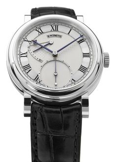 Roger W Smith 40mm Series 2 18ct White gold  - now THE British Watchmaker par excellence