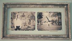 Diy Vintage Photo Frame