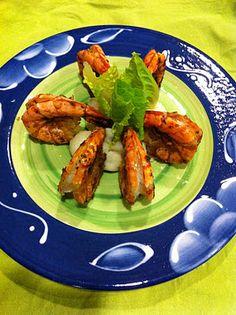 Adri's Mexican Kitchen: Garlic Shrimp/Camarones al Mojo de Ajo