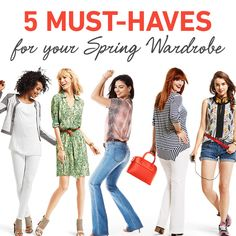 #CAbi – The lowdown on must-haves for your spring closet.