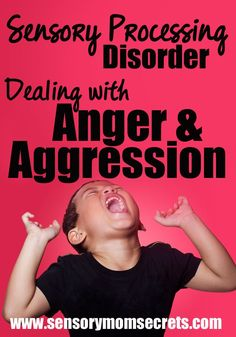 Sensory Processing Disorder and Dealing with Anger and Aggression