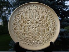 Ales the woodcarver: chip carving