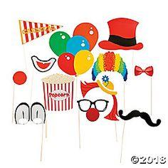Carnival Photo Stick Props