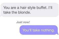 26 People Who Responded Perfectly To Guys On Dating Sites. Omg read these.