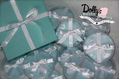 Tiffany & Co. Inspired Cotton Candy Party Favors.