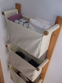 wall organizer this would be great in the kitchen for onions, potato, garlic or any vegetable stored at room temp. Laundry Shelves, Laundry Room Storage, Bathroom Storage, Bathroom Laundry, Laundry Hamper, Shelf Over Door, Ideas Hogar, Basement Storage, Small Storage