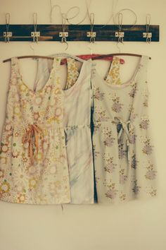 More diy dresses from thrifted sheets  Looks like I'm gonna be busy making a new wardrobe for summer