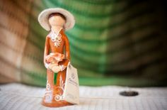 Travel souvenirs. Dominican faceless doll, from Dominican Republic.