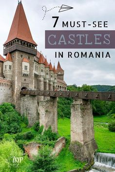 Then you should know that Romania is dotted with enchanting fortresses & castles. Check out our list of the best Romanian castles now! Beautiful Castles, Beautiful Buildings, Beautiful Places, Places To Travel, Places To Go, Travel Destinations, Time Travel, Romanian Castles, Places Around The World
