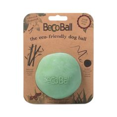 Green Beco Ball, Medium is part of Dog ball - Hide a treat or 2 in this medium ball toy for dogs and your pooch will be busy for hours, safely playing with this nontoxic rubber ball Online Pet Supplies, Cat Supplies, Buy Pets, Sustainable Living, Sustainable Ideas, Zero Waste, Dog Friends, Dog Toys, Pet Care