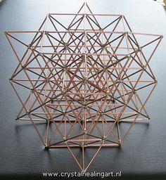 Merkaba matrix 64 tetrahedron grid vector equilibrium healing heilige geometrie sacred geometry merkabah