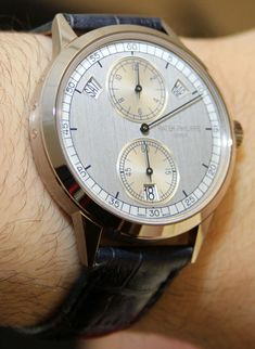 I was really happy to get my hands on a Patek Philippe Ref. 5235 watch. It apparently wasn't ready in time to show people at Baselworld 2012. Patek shared with me that the reason for this was the dial. There read more...