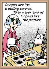 HA! -- I hope my Christmas cookies turn out.