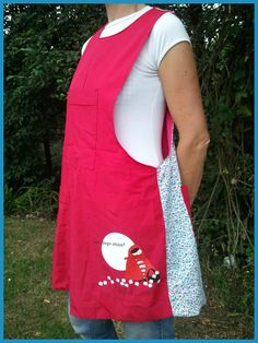 cute all around apron!