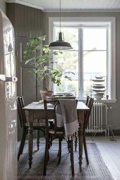 Cottage Home Interior Fikontrdskrlek Home Interior Design, Interior Design Kitchen, Modern Dining Room, Cute Home Decor, House Interior, Dining, Kitchen Dining Room, Home Decor, Room
