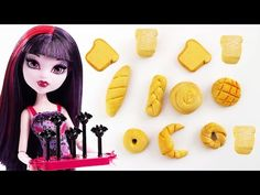 Cómo hacer pan realista para muñecas - Manualidades para muñecas - YouTube