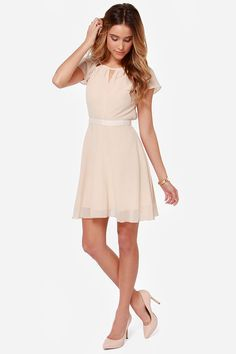 1000 images about wedding guest dress on pinterest for Beige dress for wedding guest