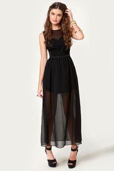 Ladakh Laced Lady Dress - Black Dress - Lace Dress - $110.00