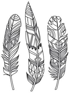 Ideas Tattoo Feather Color Urban Threads For 2019 Paper Embroidery, Embroidery Stitches, Embroidery Patterns, Modern Embroidery, Cross Stitches, Feather Painting, Feather Art, Tattoo Feather, Feather Design