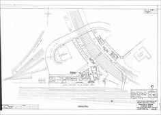 Photograph-LNER Bishop Auckland Station Ground Plan Photo Print expertly made in the USA