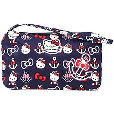 Ju ju Be x Hello Kitty Out to Sea Collection coming July 19th to Kelly's Closet. Be Quick can be used as a diaper bag or small carry all for mom.