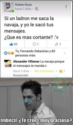 Ooh pero q momo mas sad - Friendzone Funny - Friendzone Funny meme - - Ooh pero q momo mas sad The post Ooh pero q momo mas sad appeared first on Gag Dad. Funny Images, Funny Pictures, Funny Spanish Memes, Pinterest Memes, Relationship Memes, Work Humor, Best Memes, Funny Posts, Haha
